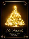 Christmas card, tarjeta navideña