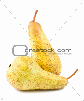 Pair of ripe pears