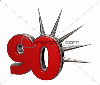 prickles number