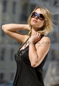 gorgeous city woman