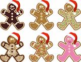 Christmas man cookies