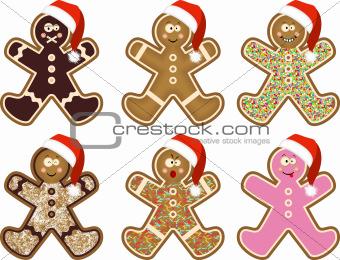 Christmas man cookies