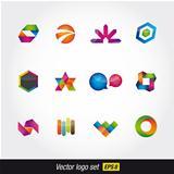 logo and icons set