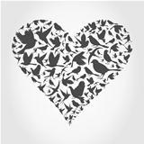 Heart a bird2