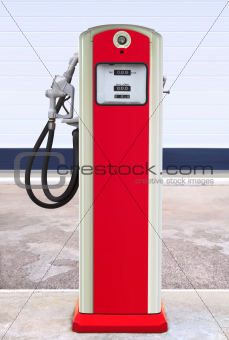 retro filling station