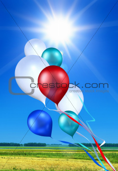 soaring toy balloons