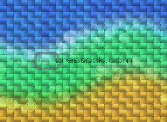 Bright weaving background for kids