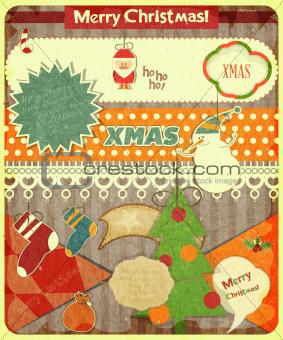 Old Christmas postcard