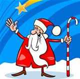 santa claus cartoon christmas illustration