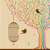 Birdcage On The Musical Tree