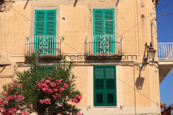 Architecture in Tropea
