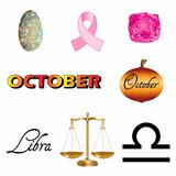 October Icons