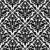 Seamless pattern in damask style