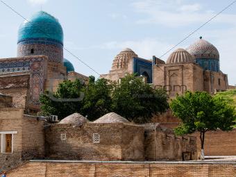 Shah-I-Zinda memorial complex.