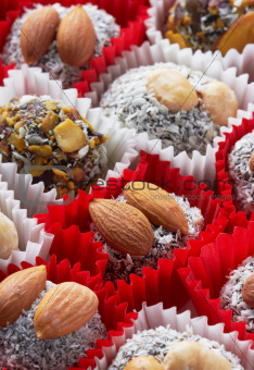 Candy with nuts