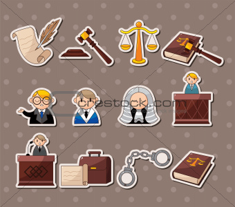 law stickers