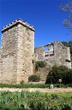 Medieval ruins in Evora