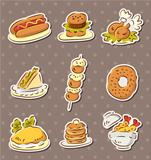 fast food stickers draw