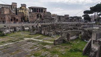 Trajan Market in Rome, Italy