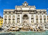 Fontana Trevi - the most famous of Rome's fountains in the world