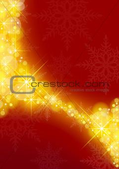 Starry Xmas Background