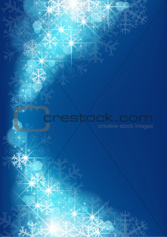 Starry Xmas Background