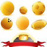 Gold Balls