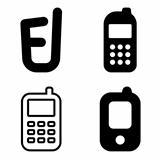 Mobile phone icons