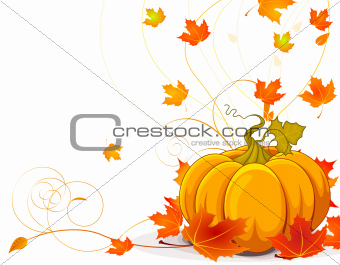Autumn place card