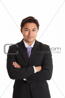 Satisfied businessman