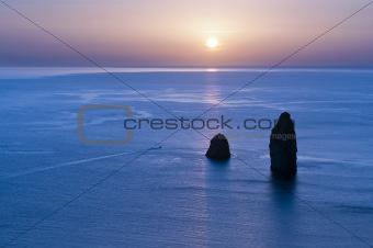 Faraglioni of Lipari, aeolian Island