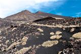 Volcanic landscape, Mount Etna, Sicily