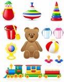 icon of toys and accessories for babies and children
