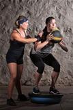 Boot Camp Workout Balance Training