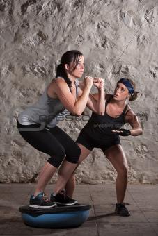 Boot Camp Equilibrium Training