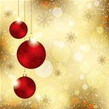 Sparkling Christmas Crystal Ball Greeting Card