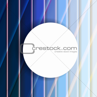 Abstract Blue Background With Line With Speech Bubble
