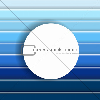 Abstract Blue Background With Speech Bubble
