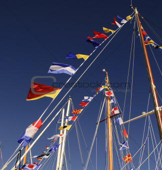 Mast flags