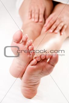 Feet and hand