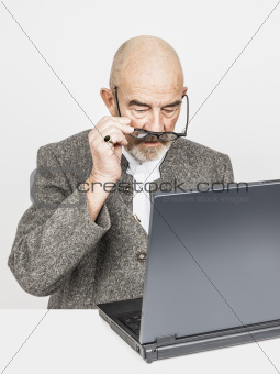 old man computer