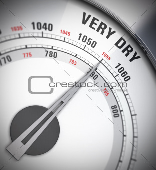 barometer, heat wave, weather
