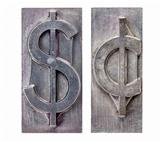 dollar and cent symbols