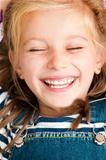 face smiling girl