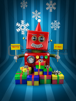 Merry Christmas Robot