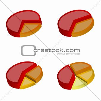 3D Pie Charts 1