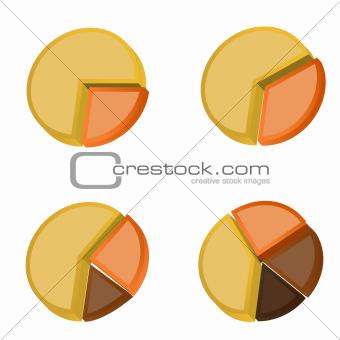 3D Pie Charts 2