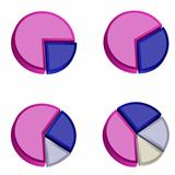 3D Pie Charts 3
