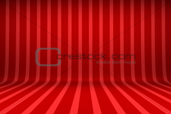 Striped studio background