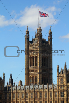 Tower of Palace of Westminster
